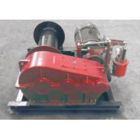 Wholesale Electric / Hydraulic Marine Winch Lebus Double Groove Drum With Wire Rope from china suppliers