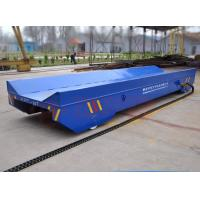 Wholesale 300T Capacity Four Caste Steel Wheels Cable Power Railroad Cart from china suppliers