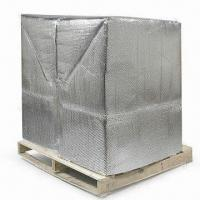 Wholesale Foil Bubble Thermal Insulation and Reflective Radiant Barrier, for Pallet Cover and Container Lining from china suppliers