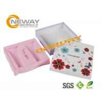 Wholesale Clear Custom Printed Cosmetic Boxes / Cardboard Gift Boxes With Lids from china suppliers