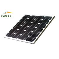 Wholesale Mono Soalr Module 50Wp 60Wp / Monocrystalline Solar Power Panels For Home Solar System from china suppliers