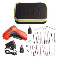 Wholesale Adjustable Auto Locksmith Tools Cordless Electric Pick Gun With 18 Picking Blades from china suppliers