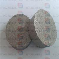 Wholesale Sintered porous metal filter disc 316L from china suppliers