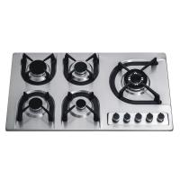 Wholesale 900mm Popular Built In 5 Burner Gas Hob Stainless Steel Home Apliance from china suppliers