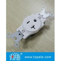 Wholesale Residential Grade Plastic Single Receptacle / Duplex GFCI Receptacles Wall Socket from china suppliers