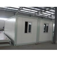 Wholesale low cost prefab house mobile container house refugee camp from china suppliers