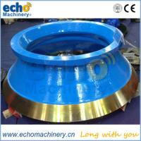 Wholesale high quality Mccloskey C38R cone liners from china suppliers