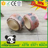Best price wholesale meets SGS washi tape tack lasting not bad die cut tape