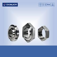 Wholesale Sanitary SUS 304 316L Stainless Steel Sanitary Fittings Male Union Liner RJT Hex Nut from china suppliers