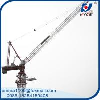 Wholesale 18TONS Luffing Tower Crane D5520 55M Work Jib Power Line Tower Craines from china suppliers