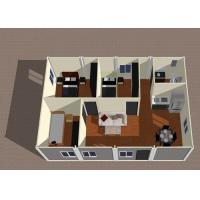 Wholesale Layout of Energy Saving 2 Bedroom Modular Homes Building With Cookhouse from china suppliers