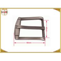 Wholesale Classic Pin Type Metal Belt Buckle / Vintage Chrome Belt Buckle from china suppliers