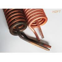 Wholesale Copper or Copper Nickel Finned Tube Coil as Refrigeration Condenser / Refrigeration Evaporator from china suppliers