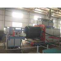 Buy cheap Automatic Pipe Production Line HDPE Large Dimeter with touch screen from wholesalers