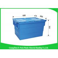 Wholesale Industrial Storage Plastic Attached Lid Containers For Transportation And Logistics from china suppliers