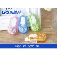 Quality Colored Correction Tape Set In Plastic Box Student Correct Supplies for sale