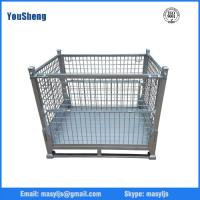 Quality Warehouse stacking collapsible pallet box for sale