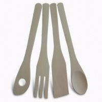 Wholesale Wooden Flatware Set, Customized Requirements are accepted, Measures 25.5 x 4 x 0.4cm from china suppliers