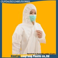 China Safety Fire Retardant Non Woven Coverall Disposable Paint Suits Eco Friendly on sale