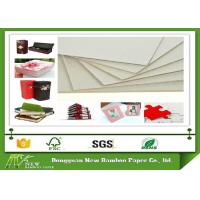 Wholesale Grade A 1250gsm / 2.04mm Grey Chip board Made by Recycled Paper from china suppliers