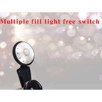 Buy cheap Optical Glass Lens For Close Up Photography 16mm 2 In1 Fill Light Phone Lens Kit from wholesalers