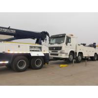Wholesale Double Rear Axles Wrecker Tow Truck , Towing 16 Ton 6 x 4 Drving from china suppliers