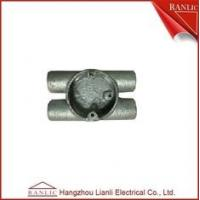 Buy cheap Twin Through H Way Conduit Junction Box Steel Conduit Fittings OEM from wholesalers