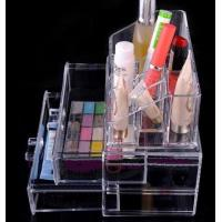 Wholesale Acrylic Makeup Organizer Case Box with Acrylic drawer Organizer from china suppliers
