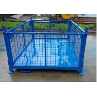 Wholesale Big size powder coated foldable and stackable stillage storage cage from china suppliers