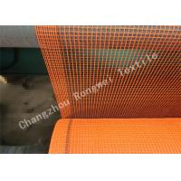 Wholesale Fire-Retardant Construction Safety Netting Barrier Nets , Orange Debris Netting with Reinforced Border from china suppliers