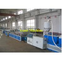 PVC Plastic Profile Production Line Wood Plastic Extruder Line 400-600kg/H