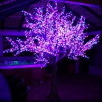 Wholesale color changing led cherry blossom tree light from china suppliers