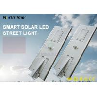 Wholesale 80W Solar Powered LED Road Lights With Lithium Battery 60AH Can Last 7 Rainy Days from china suppliers
