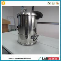 Test Autoclave Steam Sterilizer Accelerated Aging Chamber 18L Industrial Vertical 50-128 ℃