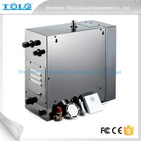 Wholesale 4.5kw 240v Auto Drain Steam Room Steam Generator With Iphone Wireless Control from china suppliers