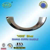Quality Ref No H005 Metal Coffin Handles , Italy design coffin fittings Half moon for sale