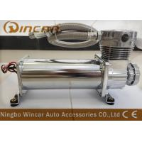 Wholesale Silver Suspension Auto Air Compressor , CE Approved Small Air Compressor For Tires from china suppliers