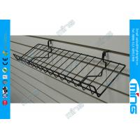 Wholesale Light Duty Metal Slatwall Display Shelves Retail Store Display Shelf from china suppliers