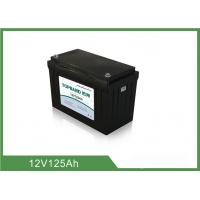 Wholesale Environmental UPS Rechargeable Batteries 12V 125AH Long Cycle Life from china suppliers