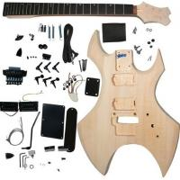 Wholesale Polished Basswood DIY Solid Electric Guitar Kits With Double Locking System AG-WU1 from china suppliers