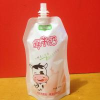 Wholesale Plastic Liquid Stand Up Spouted Pouches Packaging For Juice / Water OEM from china suppliers