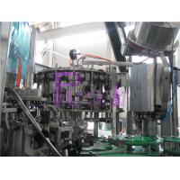 Wholesale 2000BPH Full Auto Beer Filling Machine Beverage Bottle Washing Filling Capping Equipment from china suppliers