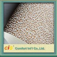 Wholesale Embossed Synthetic Waterproof Bag PVC Artificial Leather for wall decoration from china suppliers