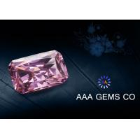 Wholesale Pink Forever Brilliant Synthetic Moissanite Radiant Shape 5mm x 7mm from china suppliers