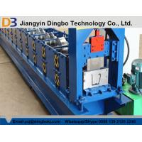 Wholesale PLC Control Rain Gutter Making Machine With Embossing 5.5KW 12MPa Working Pressure from china suppliers