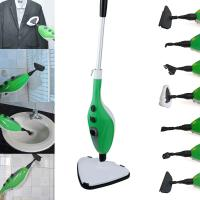 Wholesale 10 In1 Steam Mop Floor Cleaner 100 Degree Steam Triangle Shaped Head 12 Accessories from china suppliers