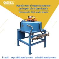 Wholesale Mineral Processing Magnetic Separator Machine Magnetic Field Strength 3T from china suppliers