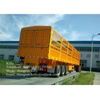 Wholesale Shengrun 3 axle 50 tons side wall semi truck cargo trailer for sale from china suppliers