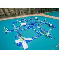 Wholesale Open Water Inflatable Aqutic Sports Park With 0.9mm PVC Tarpaulin from china suppliers