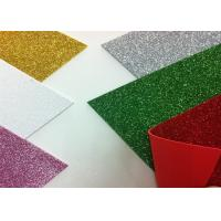 Wholesale Solid Color Adhesive Glitter EVA Foam Sheet High Density For Handcraft And Decoration from china suppliers